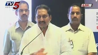 CM kiran Speech At PepsiCO Sri City - TV5NEWSCHANNEL