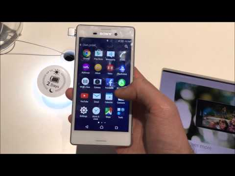 MWC 2015: Sony Xperia M4 Aqua im Hands-On