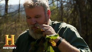 Alone: Surviving Alone: Wild Edibles | History - HISTORYCHANNEL