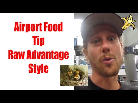 Top 3 Airport Travel Tips for Healthy Eating!