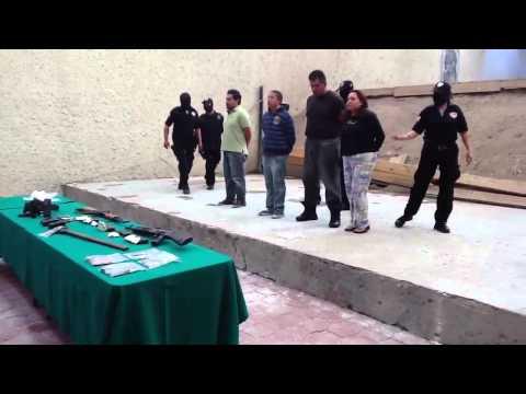 Presentan a hombres vinculados presuntamente con Zetas en H