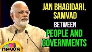Jan Bhagidari, Samvad Between People And Governments Constitute Hallmarks of a Vibrant Democracy - MANGONEWS