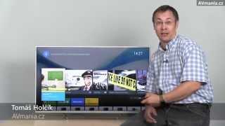 Android TV v televizoru Sony KDL-43W807C
