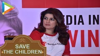WATCH: Akshay Kumar wife Twinkle Khanna attends Save the Children event as Artist Ambassador - HUNGAMA