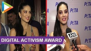 MUST WATCH: Sunny Leone Grant with Digital Activism Award - HUNGAMA
