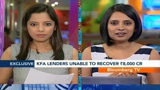 Market Pulse- KFA Lenders Unable To Recover Rs.8,000 Cr - BLOOMBERGUTV