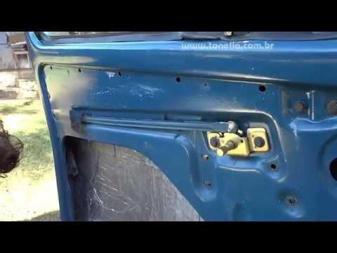 Tonella - desmontagem  e MONTAGEM da porta do fusca 02