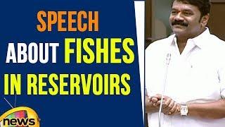 Talasani Srinivas Yadav Speech About Fishes In Reservoirs   Telangana Assembly   Mango News - MANGONEWS