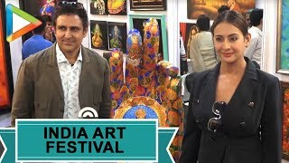 Inauguration of the India Art Festival with many | Preeti Jhangiani | Ranvir Shorey - HUNGAMA