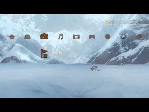 UNCHARTED 2: Among Thieves PS3 Dynamic Theme