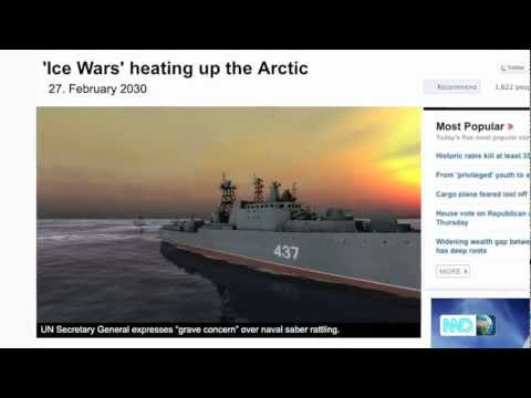Naval War: Arctic Circle Teaser trailer Gamescom2011