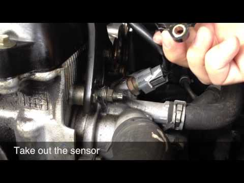 Code P0725 / P0335 / P0340 - Camshaft Positioning Sensor Replacement - Nissan Altima.