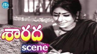 Sarada Movie Scenes - Sharada Writes A Letter To Shobhan Babu || Jayanti || Kaikala Satyanarayana - IDREAMMOVIES