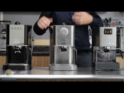 Comparing the Gaggia Classic Baby Class & New Baby