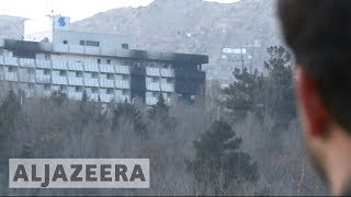 Deadly Kabul hotel siege investigated as 'insider attack' 🇦🇫 - ALJAZEERAENGLISH