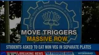 IIT-M's bizarre Non-vegetarian food diktat, students asked to eat non-veg in separate plates - NEWSXLIVE