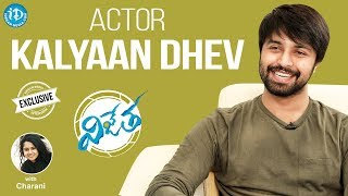 Vijetha Movie Hero Kalyaan Dhev Exclusive Interview || Talking Movies With iDream - IDREAMMOVIES