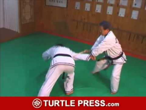 Hapkido Cane Self-defense Technique