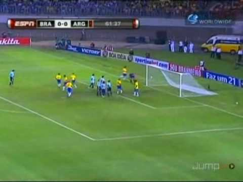 Brasil v argentina: 2010 søramerikanske VM-kvalifisering