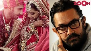 Ranveer arrived in seaplane to wed Deepika | Aamir makes tough decision post 'TOH' failure & more - ZOOMDEKHO