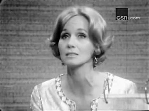 What's My Line? - Eva Marie Saint; PANEL: Martin Gabel, Suzy Knickerbocker (Dec 25, 1966)