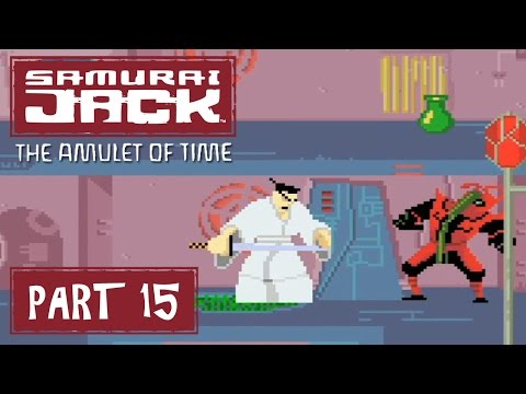 Samurai Jack: The Amulet of Time (GBA) Part 15 - Neo Retro Tokyo | Too Much Gaming