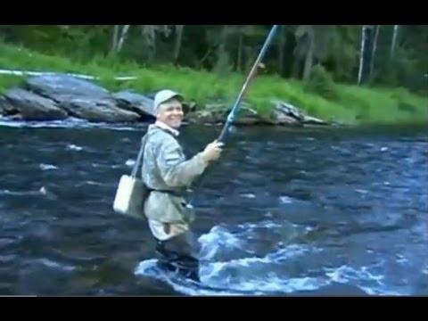 хариус на таежных речках рыбалка видео