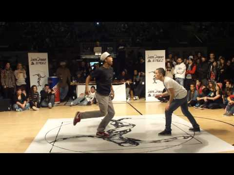 JUSTE DEBOUT 2012 SWITZERLAND (SUISSE) HIP-HOP FINAL - ZULU&amp;MAXIMUS(LIVE4.1CREW) VS. CRIMINALZ CREW