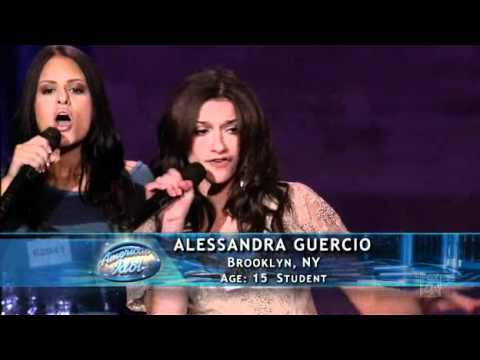 American Idol 2011/ Hollywood Round 2 - Pia Toscano, Alessandra Guercio, Brielle von Hugel