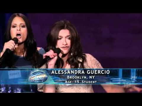 American Idol 2011/ Hollywood Round 2 - Pia Toscano, Alessandra Guercio, Brielle von Hugel
