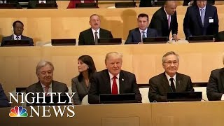 Donald Trump Meets With World Leaders At U.N. Assembly | NBC Nightly News - NBCNEWS