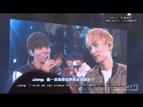 [HD][ENG SUB]121220 SHINee OSAKA FM - Jongkey - Love is just like JongKey (Epic HUG)
