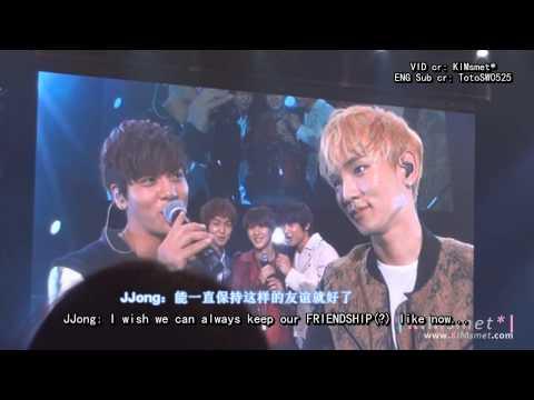 [HD][ENG SUB]121220 SHINee OSAKA FM - Jongkey - Love is just like JongKey (Epic HUG)