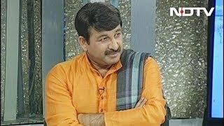 बीजेपी सांसद मनोज तिवारी ने कहा- दिल्ली के सीएम खुद सबसे बड़ा प्रदूषण - NDTVINDIA