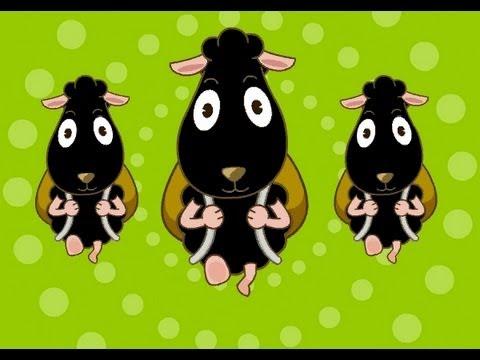 Muffin Songs – Baa Baa Black Sheep  İngilizce Tekerlemeler ve İngilizce Çocuk Şarkılar