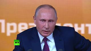 Putin: Do you want dozens of Saakashvilis running around & Russia moving from one Maidan to another? - RUSSIATODAY