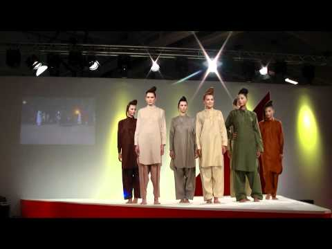 Pakistani fashion Catwalk PRET A PORTER PARIS 2011