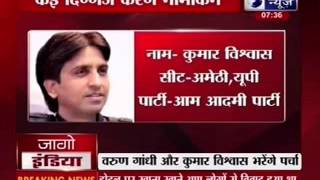 Election 2014: Varun Gandhi, Kumar Vishwas to file nominations today - ITVNEWSINDIA