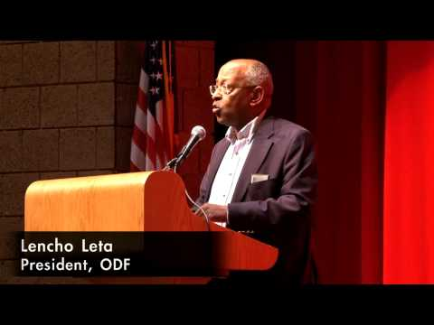Oromo Democratic Front (ODF) Vision draws large crowd in first meeting