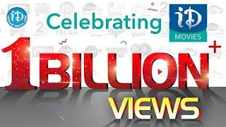 Celebrating 1 Billion Views For iDream Movies || Thank You Folks..! - IDREAMMOVIES
