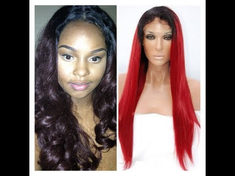 My Wigs And Weaves | Poppy Synthetic Lace Front Wig | Review