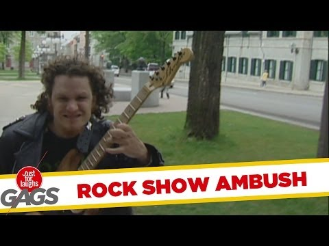 Rock Show Ambush Prank