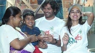 Ninnu Thalachi Movie Team Eco friendly Ganesh Distribution In Hyderabad - TFPC