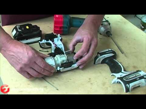 How to Repair the Leaf Spring on a Makita