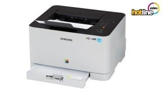 Обзор лазерного принтера Samsung CLP-365W
