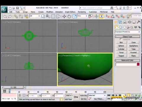 Navigasi Viewport Screen # Pengenalan Tampilan # Tutorial 3D STUDIO MAX#