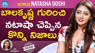 Jai Simha Actress Natasha Doshi Exclusive Interview || Talking Movies With iDream #624 - IDREAMMOVIES