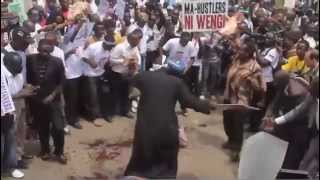 KENYANPROTEST MPIGS' PAY DEMANDS -APA