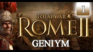 Прохождение Rome 2 Total War . Пролог. Часть 1