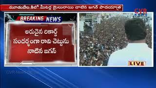 రావి చెట్టును నాటిన జగన్ | Ys Jagan speech at Kothavalasa | CVR News - CVRNEWSOFFICIAL